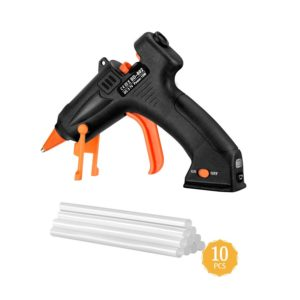 TOPELEK Cordless Hot Glue Gun Kit